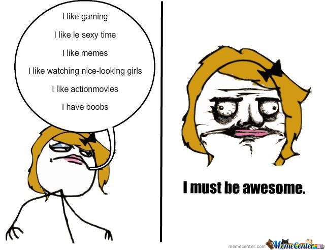 I Must Be Awesome