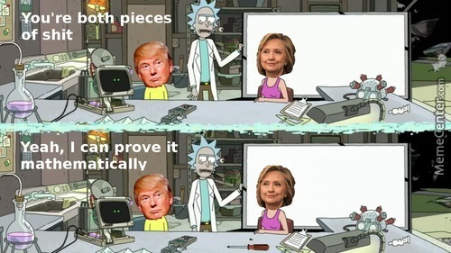 I Must Be Rick Because I Have Proven It