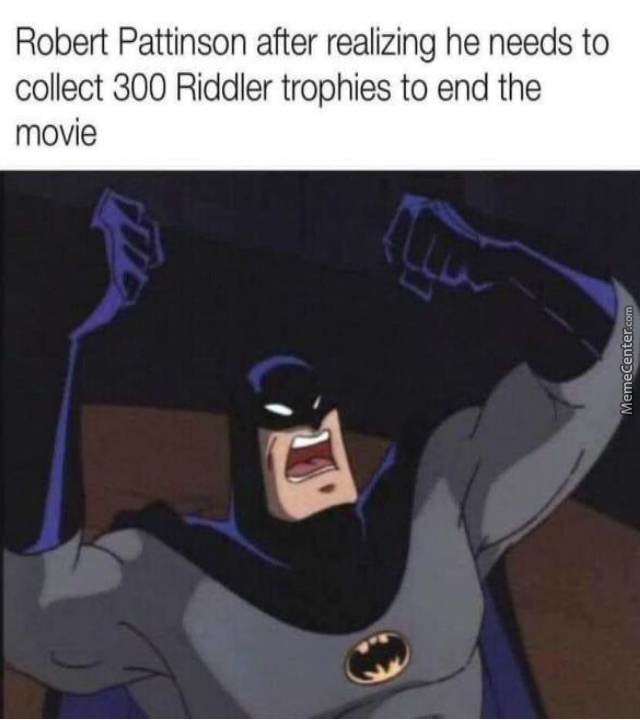 I Never Got All The Trophies