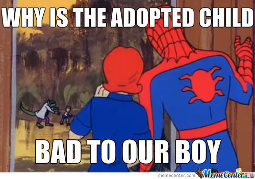 I Never Thought Spidey Would Get A Family