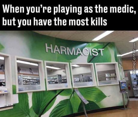 I Only Play Medic For The Rifle....
