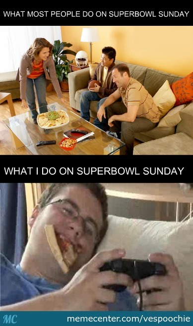I Only Watch For The Commercials