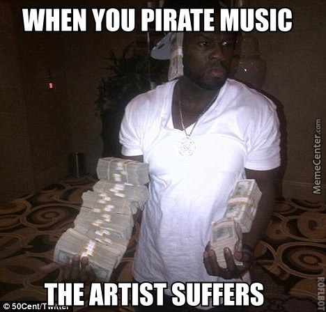 I Personally Don't Pirate Unless I Can't Find A Song