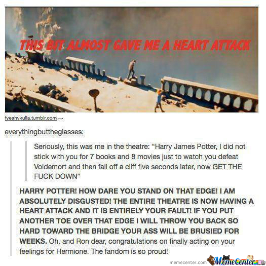 I Read The Second Part In Molly Weasley's Voice