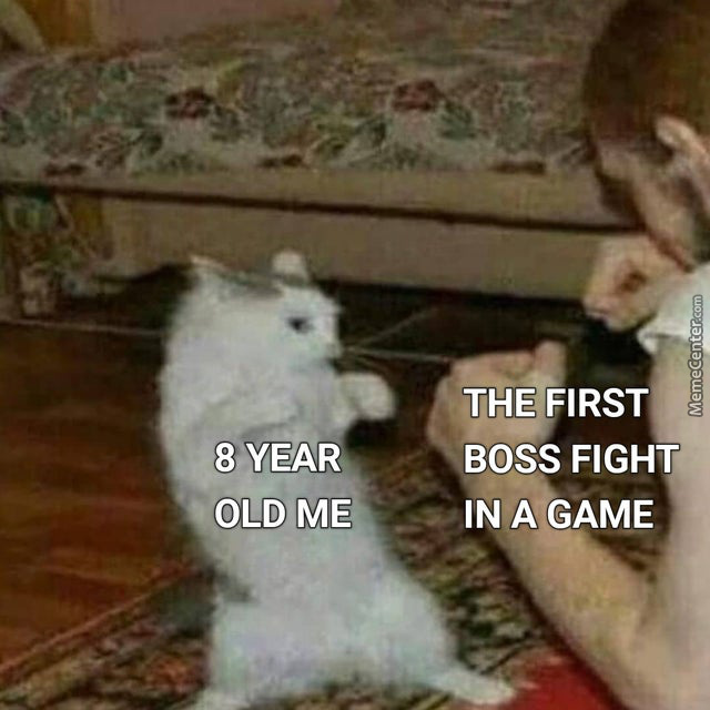 I Remember My First Boss Fight