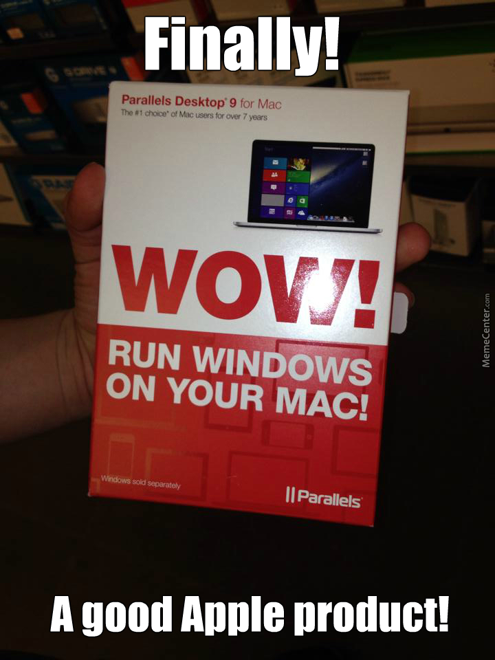 I Saw This At The Apple Store Today