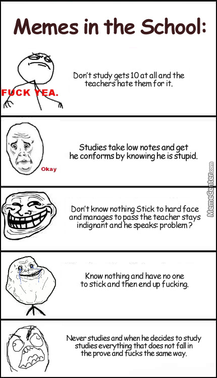 I See In School...