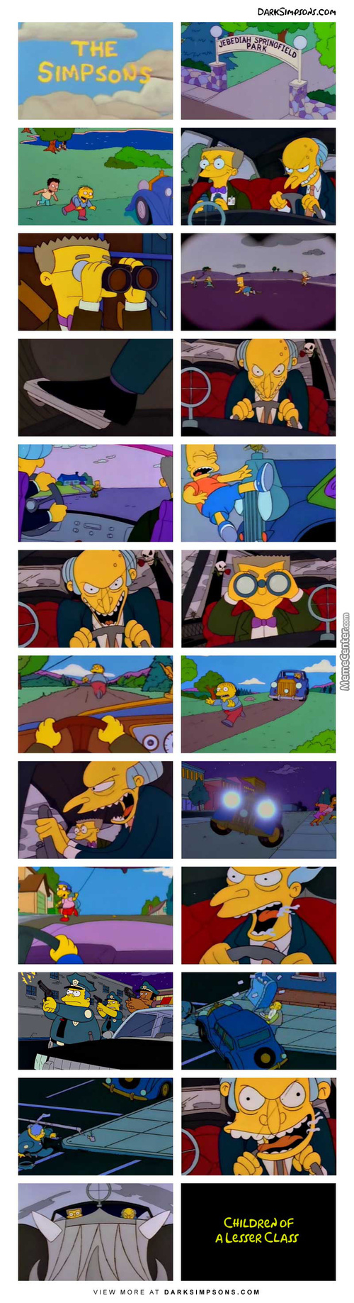 I Should Be Able To Run Over As Many Kids As I Want! – Mr. Burns
