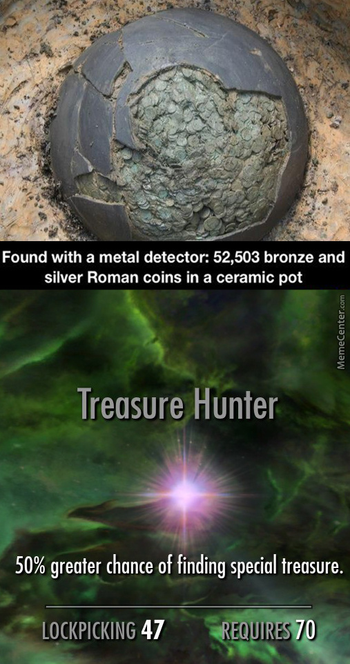 I Should Start Metal Detecting For A Hobby