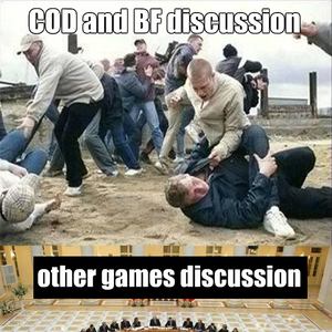i spend the last two hours looking for a template for this meme_fb_1763411 call of duty vs battlefield discussion by w0lf meme center