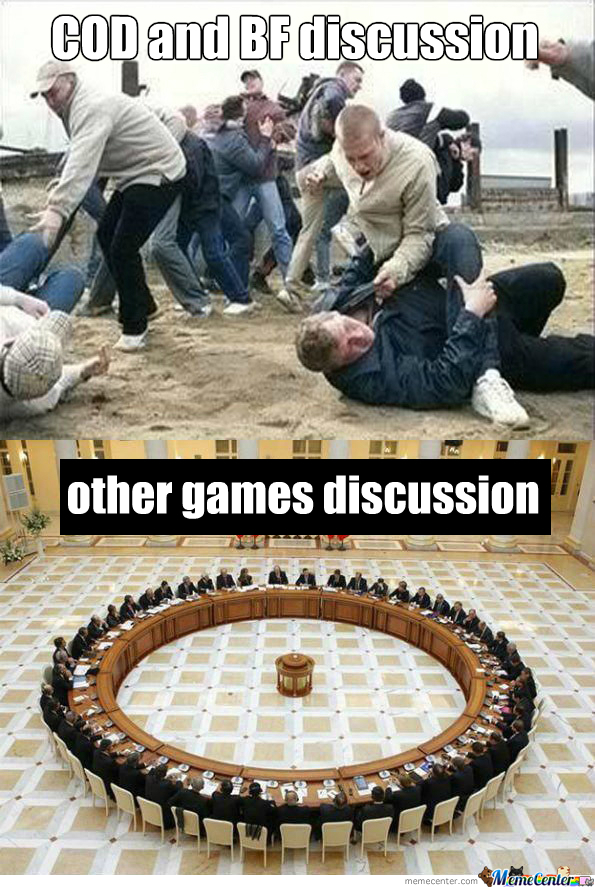 Call of Duty vs BattleField Discussion