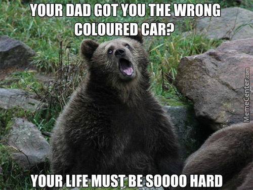 I Think I'll Call Him The Sarcastic Bear