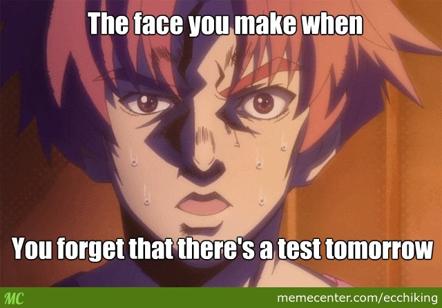 I Thought It Was Supposed To Next Week (Anime: Baka To Test)