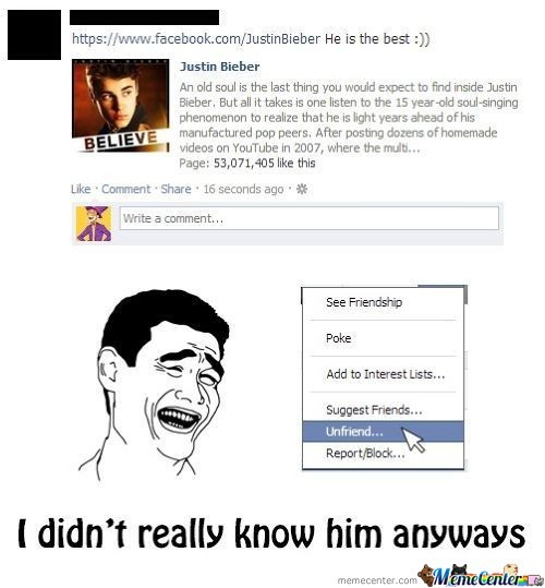I Thought That It Was Only Girls Who Liked Him.