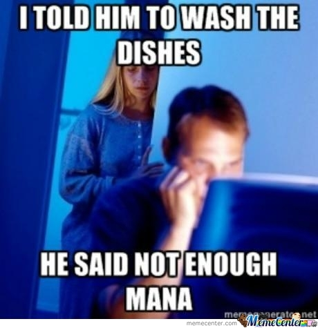 I Told Him To Wash The Dishes...