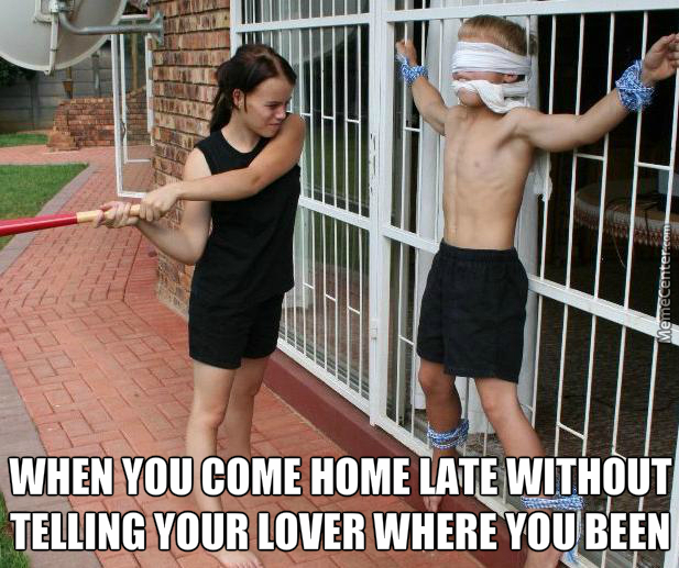 I Told You! If You Were Not Home By X:xx Time Without Notifying Me, I Have To Eat One Of Your B***s