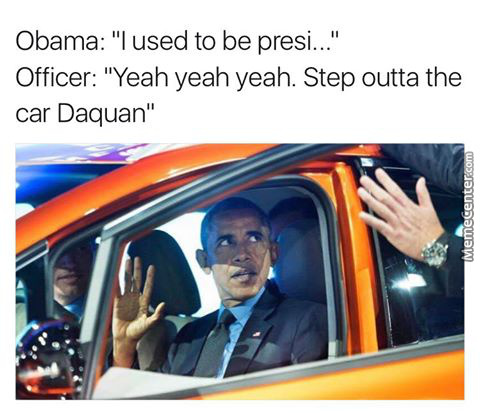 I Used To Be President