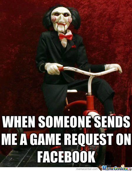 I Wanna Play A Game.....