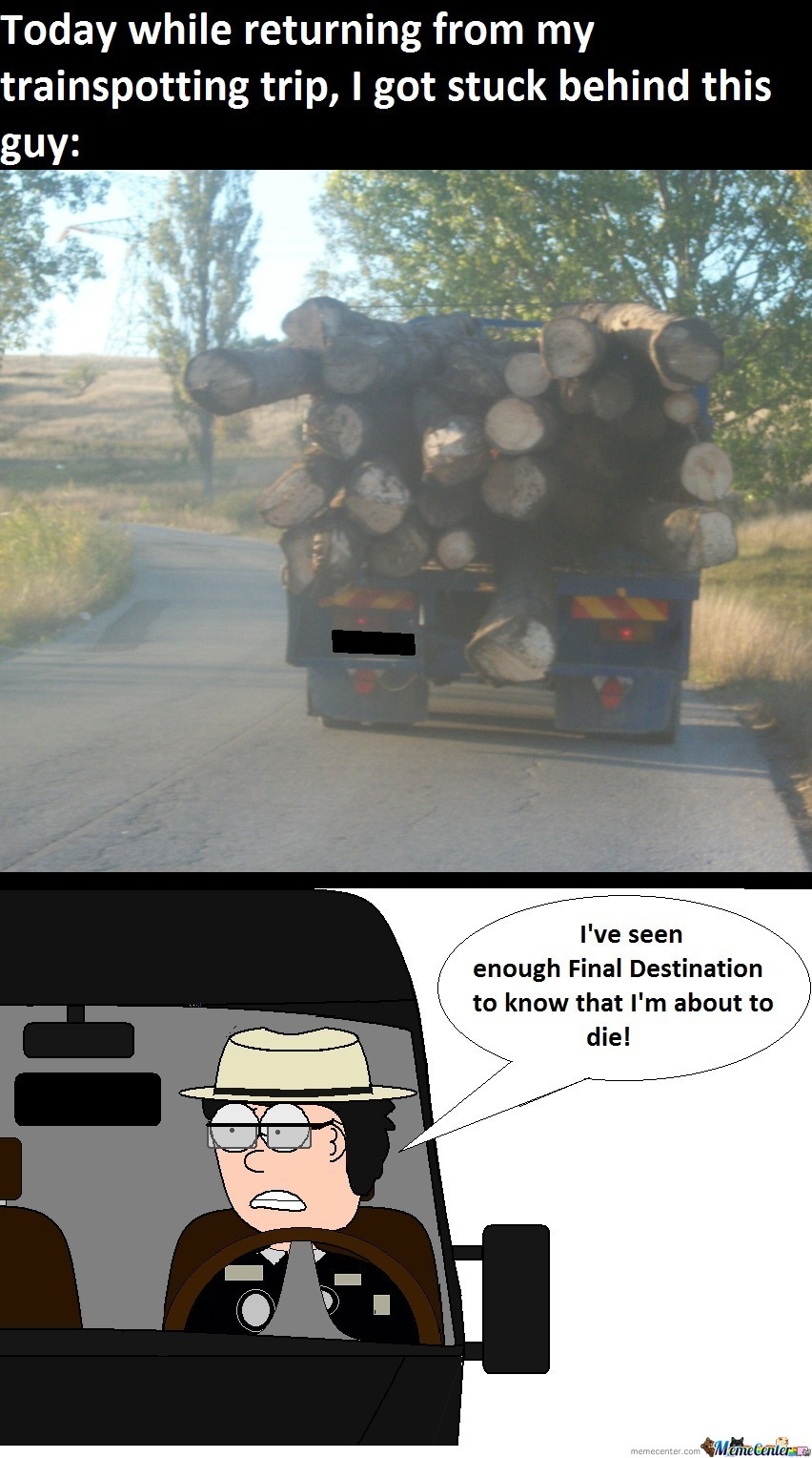 I Was Lucky, Because That's A Communist Truck(Based On A True Story)