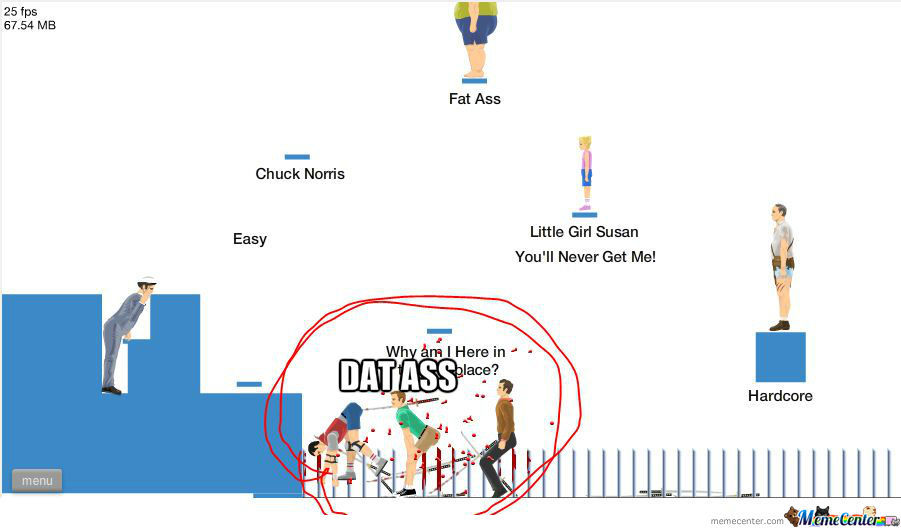 I Was Playing Happy Wheels When...