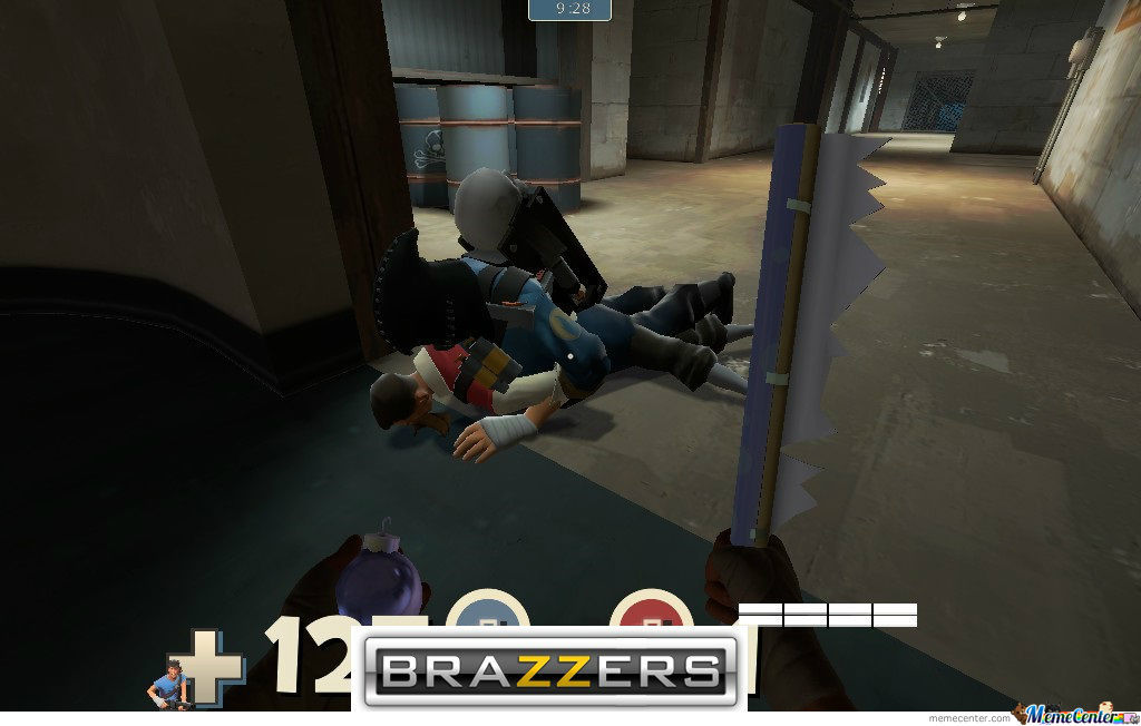 I Was Playing Tf2 Then Suddenly..