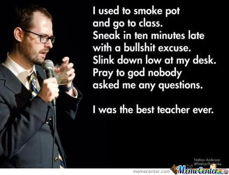 I Was The Best Teacher