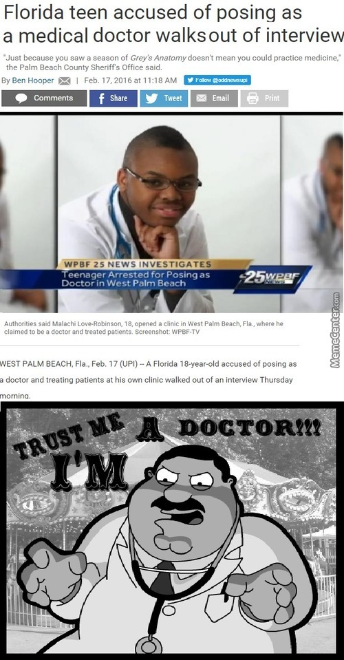 I Went To A Doctor Once, All He Did Was Suck My Blood From My Neck. Do Not Go See Dr. Acula