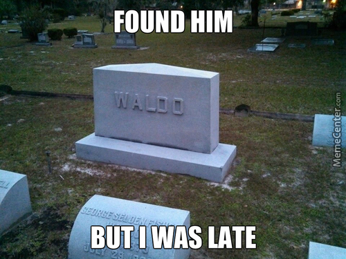I Will Haunt Your Ass, Waldo