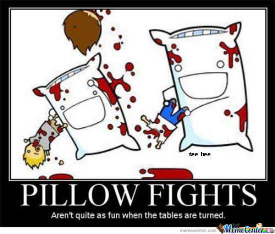 I Will Never Look At A Pillow A Same Way Again (._. )