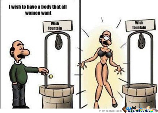 I Wish To Have A Body That All Women Wants