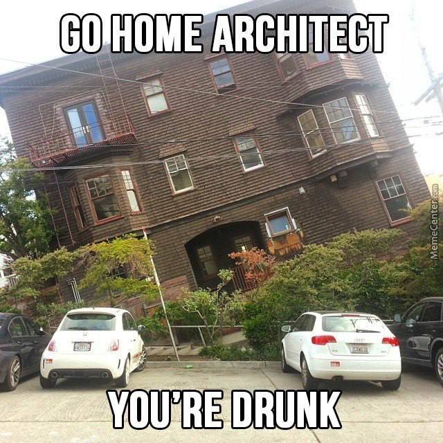 I Wonder How The Architect's Home Look Like