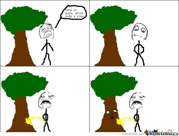 I Wonder If Trees Get Creep Out...
