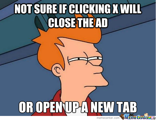 I Wonder This Everytime An Ad Pops Up