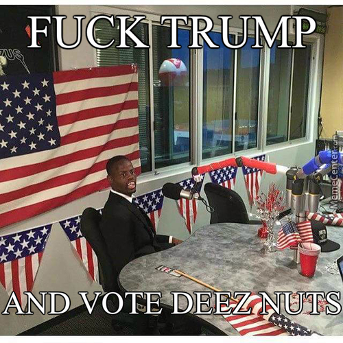 I Would Vote For Him
