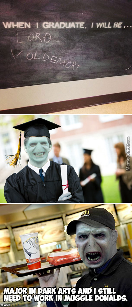 I You Don't Tip Lord Voldemort Your Fries Will Be Turned Into Worms