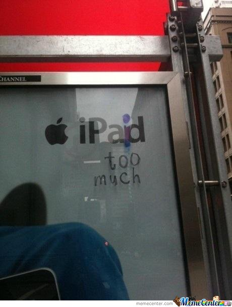 iPod Ad - iPaid too much