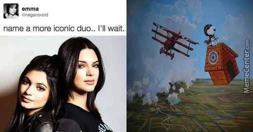Iconic Duo? Snoopy And The Red Baron