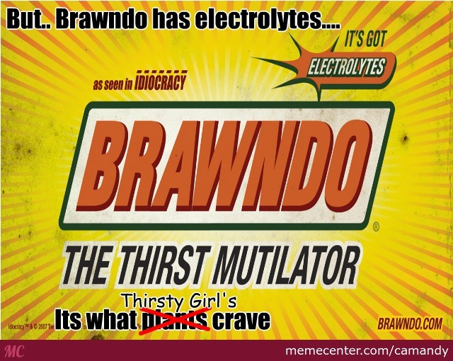 Idiocracy, What Brawndo Is Really About