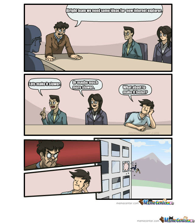 Ie Angry Office By Recyclebin Meme Center