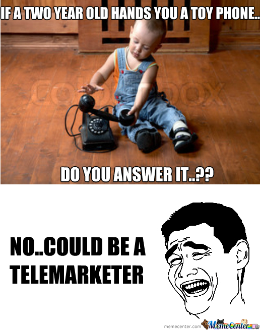 If A 2 Yr Old Hands You A Toy Phone  do You Answer It  ?? by