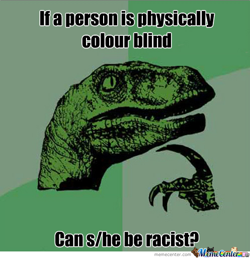 If A Person Is Colour Blind...
