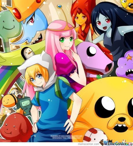 If Adventure Time With Finn And Jake Was An Anime