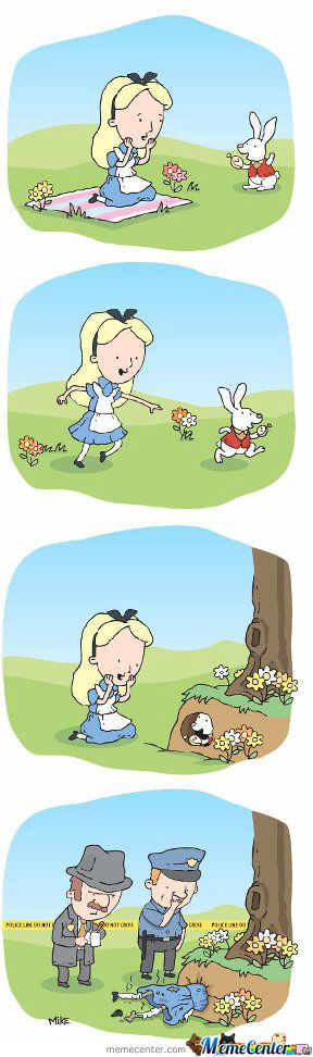 If Alice Existed