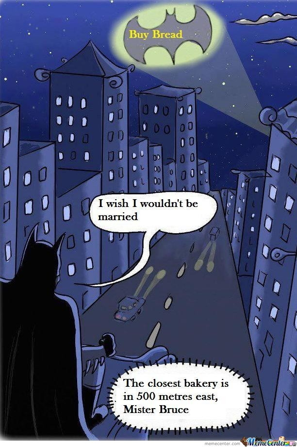 If Batman Would Marry