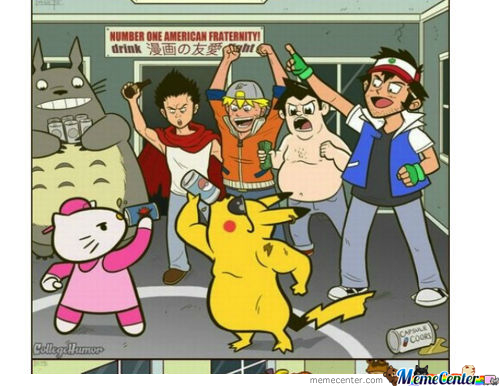 If Cartoon Characters Were In College