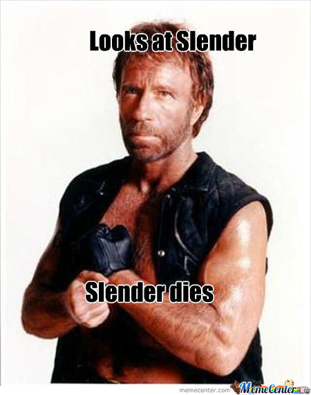 If Chuck Norris Plays Slender