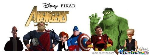 If Disney Made The Avengers