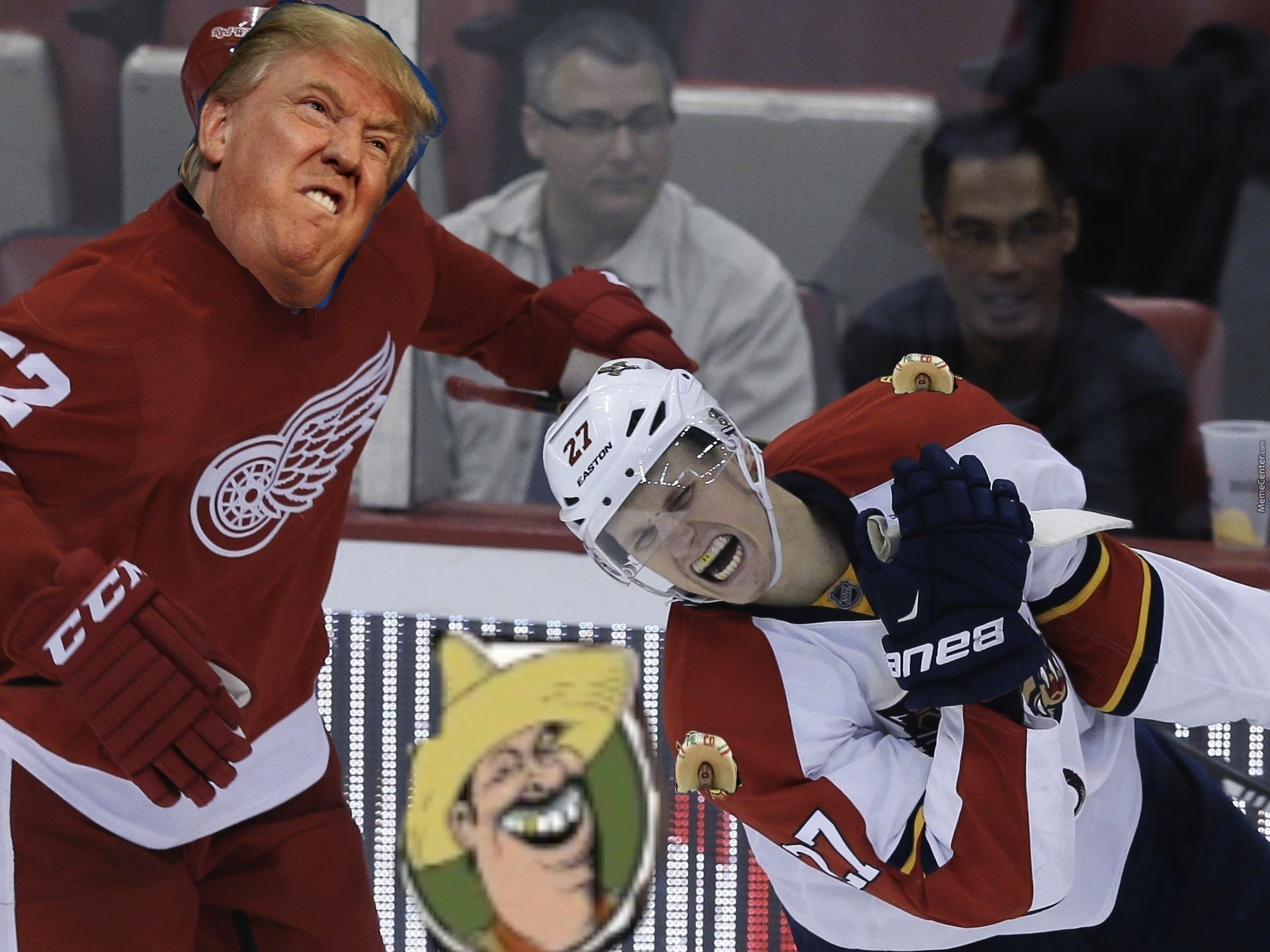 If Donald Trump Played Hockey by them8y87 - Meme Center a51b0e92ff4