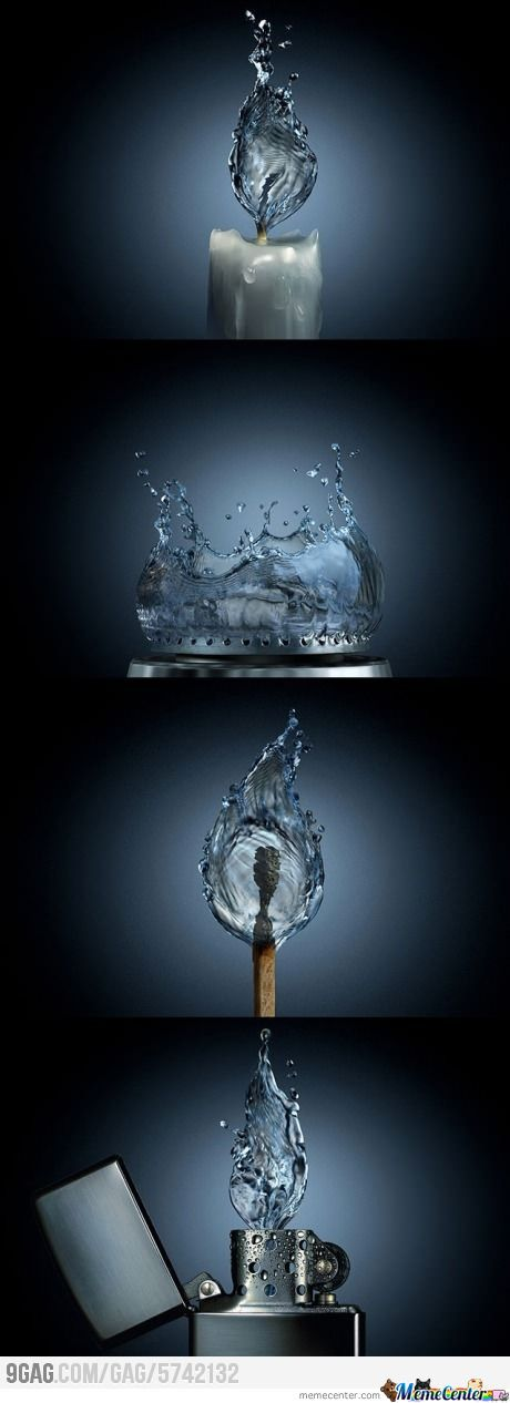 If Fire Was Water
