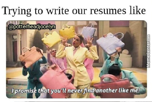 If Our Resumes Could Talk